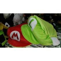 Gorra Mario Bros Doble Vista
