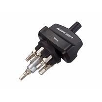 Torquimetro Ritchey Piezas De Carbon 3,4,5mm + Torx T-15/t25