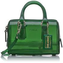 Bolsa Pequeño Furla Candy Satchel -verde
