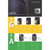 Bafle Bocina G&a Amplificado 12 Radio Fm G-22 Mp3 Usb 300w