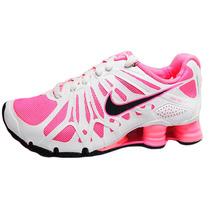 Tenis Nike Shox Turbo 13 Para Dama 525236-600 Originales