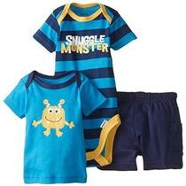 Conjuntos Pañalero Camisa Talla Recien Nacido Envio Gratis