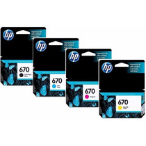 Oferta Cartucho Hp670 Original Para Hp 3525 4615 4625 5525