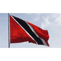 Bandera De Trinidad Y Tobago 150x90cm. Banderas Del Mundo.