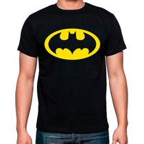 Playera Batman Dc Marvel Comics Muchos Modelos Catalogo