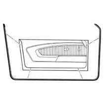 Par De Hules De Puerta Para Ford Mustang 1965 - 1966
