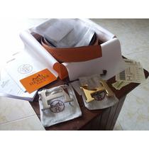 Cinturon Hermes Con Caja Y Documentos Cerificados