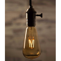 Foco Edison Vintage Tipo Bulbo 2watts ¡remato!
