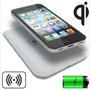 Cargador Inalambrico Qi Con Funda Iphone 4 4s 5 5s 6 6s Plus
