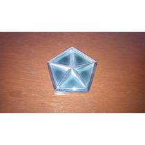 Emblema Estrella Pentaestrella Con Base Chrysler Hm4