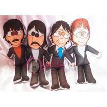 Muñecos De Tela De Los Beatles
