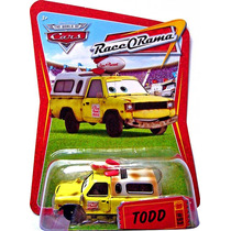 Cars Disney Todd. Race-o-rama.