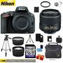 Nikon D5500 + 18-55mm + 2 Lentes Hd +11 Acc + Regalo + Bono