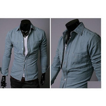 Camisa Zhelin Moda Oriental Tipo Slim