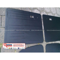 Tapas De Puerta Para Sedan Vocho Negras Tipo Origiaccesorios