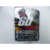 Ford Mustang Shelby 60 Segundos Escala 1/64 Greenlight Autos
