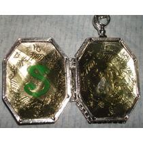 Harry Potter Giratiempo - Guardapelo - Reloj Snitch Dorada