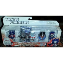 Transformers (30 Aniversario) - 5pc Mini-figure Set (optimus