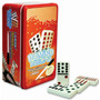 Domino Doble 12 Cubano Estuche Metal 91 Fichas Jumbo Novelty