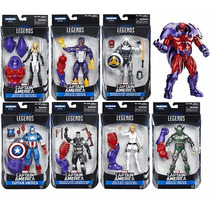 Marvel Legends Captain America Baf Onslaught Set 7 Figuras