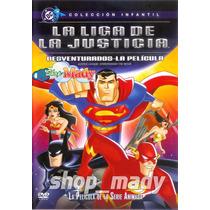 La Liga De La Justicia: Desventurados La Pelicula Dvd