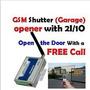 Puerta Puerta Operador Gsm Abridor Con Sms De Alarma Casera