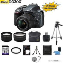 Nikon D3300 + 18-55mm +2 Lentes + 10 Accesorios + Regalo