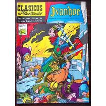 Historieta Clasicos Ilustrados,ivanhoe N°15