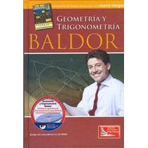 Geometria Y Trigonometria Con Cd Rom - Baldor, Aurelio