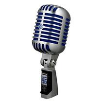 Microfono Shure Super 55 Estilo Vintage, El Legendario Mic