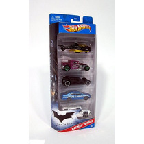 Batman Dark Knight Batimobil Batimovil 5 Carritos Hot Wheels
