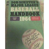 Libro Baseball Handbook 1964