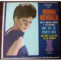 Afroantillana, Norma Mendoza Con El Maestro Fuentes Lp 12´