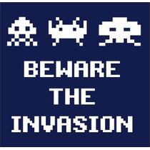 Padrisimas Calcomanias De Space Invaders Baratisimas