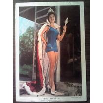 Poster De Editorial La Prensa Irma Arevaloseñorita Mexico