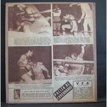 Articulo De La Revista Vea Blue Demon Vs Cavernario 1954 Luc