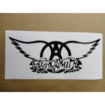 Sticker Vinil Calcomania Aerosmith Logo (21 X 8 Cm)