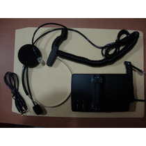 Diadema Telefonica Universal Manos Libres Base Amplificador
