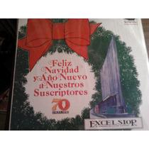 Disco Acetato De Feliz Navidad Y Año Nuevo Excelsior