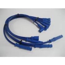 Cables De Silicon Para Bujias Color Azul El Mejor