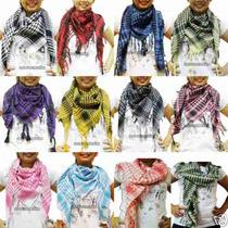 Lote De 5 Palestinas Shemagh (bufanda Arabe) Fashion !!!!!