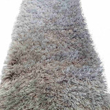 Tapete Bajo Cama Shag Muy Peludo 1.50x.45 (plata, Beige Etc)