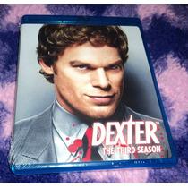 Dexter - Tercera Temporada Bluray Importado Usa Hm4