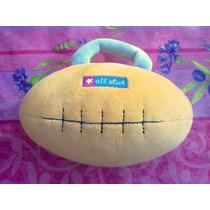 Balon Futbol Americano Sonaja De Peluche
