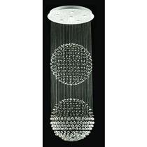 Candil Doble Esfera 6 Luces