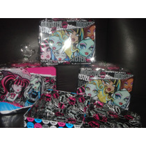Lo Mas Nuevo¡ Lonchera Metalica De Monster High. Rgl