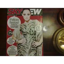 Revista Sky View Marimar Barbara Mori Juanes Norah Jone Tron