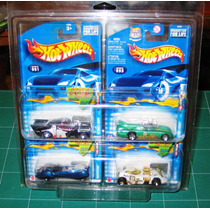 Hot Wheels Lote De 4 Autos Amos Del Universo