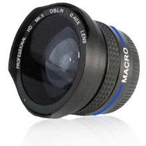 Lente Ojo De Pez .40x Fisheye P Canon Powershot G10 G11 Fn4