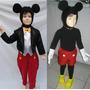 Disfraz Traje Inspirado En Mickey Mouse C/accesorios Hermoso